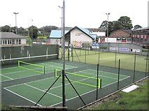 H4572 : Omagh Tennis Club by Kenneth  Allen