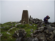 SD8067 : Trig Point on Smearsett Scar by Ray Woodcraft