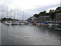 SH5638 : Porthmadog harbour by DS Pugh