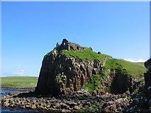 NG4074 : Duntulm Castle by peter brookman