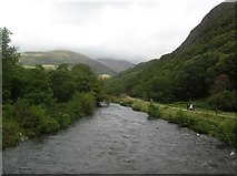 SH5947 : Up the Afon Glaslyn by DS Pugh