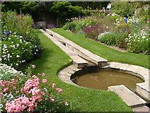 SX9050 : The Rill Garden, Coleton Fishacre by Derek Harper