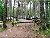 NH9718 : Green Trail Car Park, Loch Garten by Mick Garratt