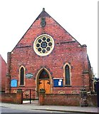 SE5613 : Askern Methodist Church by Bill Henderson