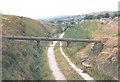 SD8721 : Converted railway route, Britannia by Stephen Craven