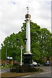 NY6820 : Monument. Appleby in Westmorland by Charles Rispin