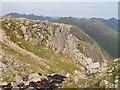 NN1544 : Small crag, head of Coire Glas by Chris Eilbeck