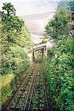 SS7249 : Lynton Cliff Railway by Gary Knighton