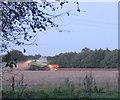TR0946 : Harvesting at dusk by Stephen Craven