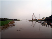 TA0623 : 8.0m Tide at Barrow Haven by David Wright