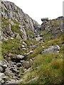 NN1845 : Ravine, Coirean Riabhach by Chris Eilbeck
