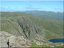 NY2807 : Pavey Ark and Stickle tarn by Michael Graham