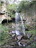 SN8201 : Melin Court Falls by Hywel Williams