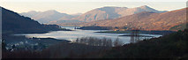 NN0858 : Loch Leven, from above Ballachulish by Donald MacDonald