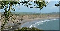 SH2428 : The Clay Cliffs of Porth Neigwl or Hell's Mouth. by Stephen Elwyn RODDICK