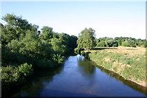 SK0220 : The River Trent, Wolseley Bridges, Rugeley by Stephen Pearce