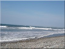 SH4356 : Dinas Dinlle beach by Dot Potter