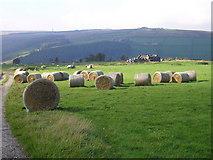 SE0023 : Straw bales on High Lane by John Illingworth