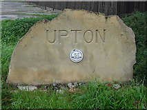 SE4613 : Upton Village Sign by Bill Henderson