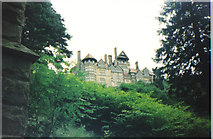 NU0702 : Cragside,on its rock perch above the Debdon valley. by Carol Walker
