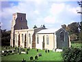 TM3060 : St Mary's Church, Parham by Adrian Cable