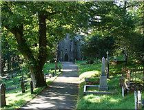 SN7673 : Hafod Church by John Lucas