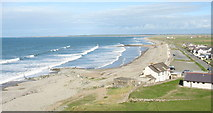 SH4356 : Dinas Dinlle Village from Dinas Dinlle by Eric Jones