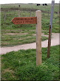 TA1281 : The beginning (end) of the Wolds Way by Andy Beecroft