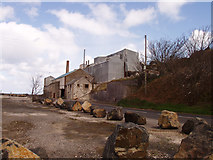 D3115 : The limestone quarry buildings by Eleanor Ballard