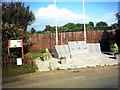 TM4363 : Monument on Harrow Lane by Adrian Cable