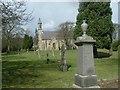 NZ0926 : Lynesack cemetery by Stanley Howe