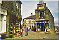 SE0237 : The Top of Main Street, Haworth by Colin Smith