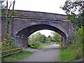 SJ3477 : Hooton - Heath Lane Bridge by Mike Harris