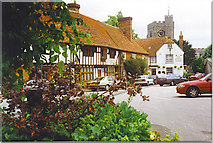 TR0653 : The Square, Chilham by Colin Smith