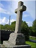 NY9874 : Cenotaph at crossroads Bingfield by P Glenwright