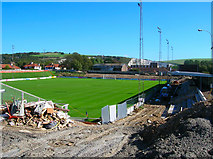 TQ4109 : The Dripping Pan, Lewes FC by Simon Carey