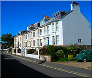 TQ4109 : Priory Terrace, Mountfield Road by Simon Carey