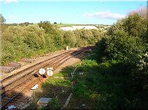 TQ4109 : Coastway East Railway by Simon Carey