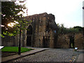 NZ2464 : Herber Tower, part of the old City Wall, Newcastle upon Tyne. by Bill Henderson