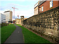 NZ2464 : A part of the Old City  walls, Newcastle upon Tyne by Bill Henderson