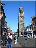 NS3321 : Wallace Tower, in Ayr's High Street by Mary and Angus Hogg
