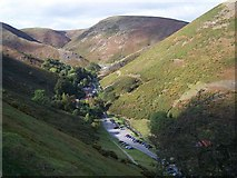 SO4494 : Carding Mill Valley from the Road By Burway Hill by Geoff Pick