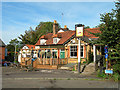 TL4510 : The Greyhound public house by John Smith