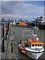 TM2532 : The waterfront - Harwich by Simon Leatherdale