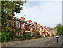 SJ6552 : Anglesey Buildings & Alexandra Villas, Crewe Road, E Nantwich by Espresso Addict