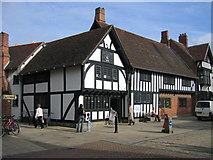 SP2055 : Stratford-upon-Avon Library by David Stowell