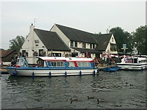 TG3416 : The Ferry Inn, Horning by Katy Walters