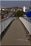 TA0827 : Strickland St footbridge, Hull by Charles Rispin