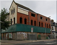 TA0827 : Derelict building on corner of Coltman St by Charles Rispin