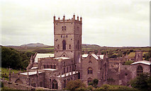 SM7525 : St. David's Cathedral, 1974 by John Lucas